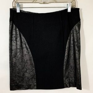 Dolce Vita Faux Leather Pencil Skirt